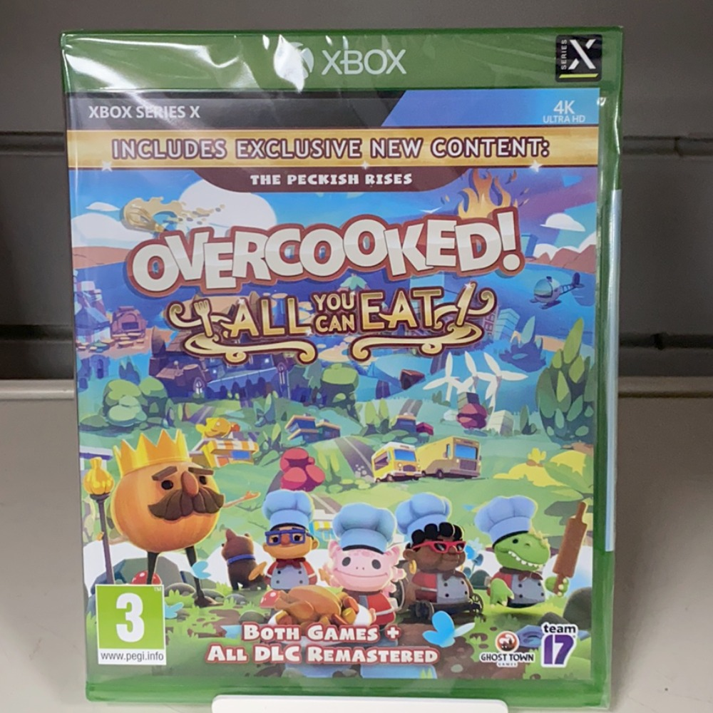 Product photo for Microsoft/Xbox One Game Overcooked All You Can Eat Xbox Series X