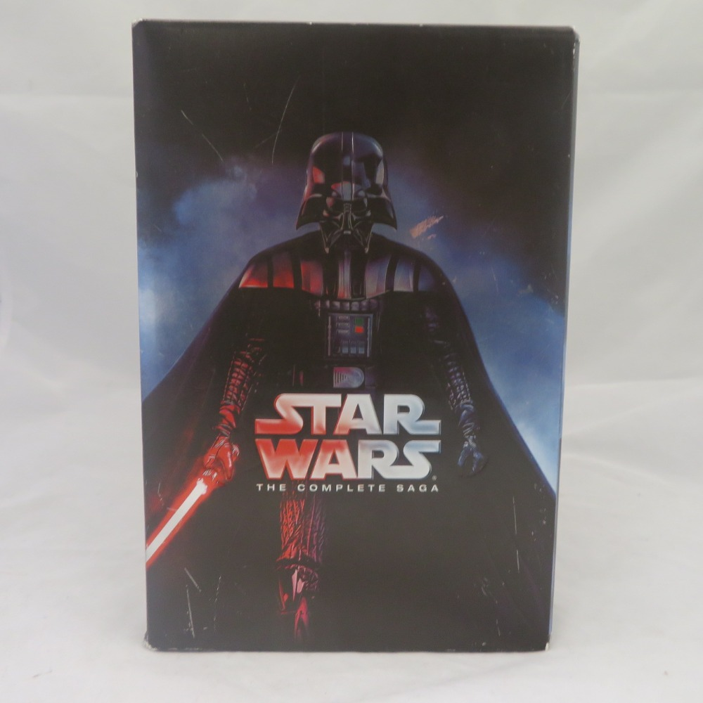 Product photo for Star wars complete saga DvD set