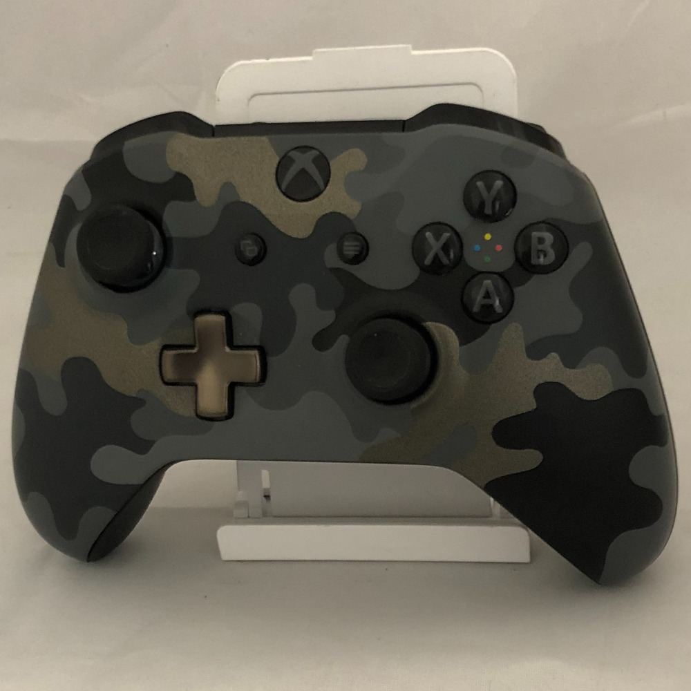 Product photo for Microsoft Official Camo Grey Xbox One Controller