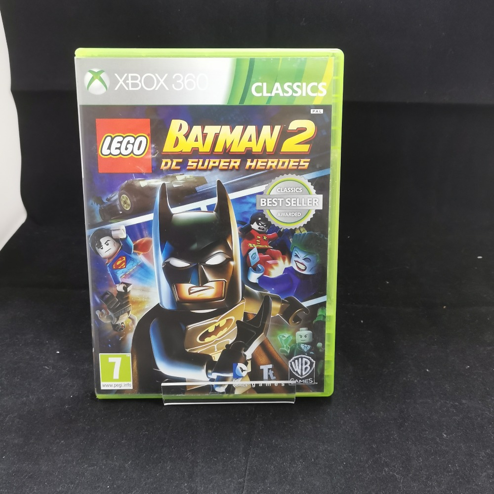 Product photo for xbox 360 game BATMAN 2