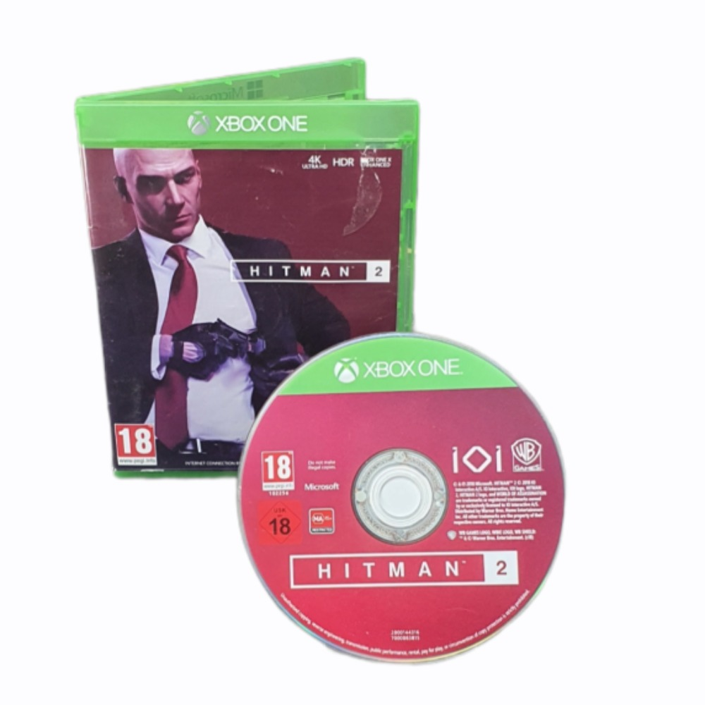 Product photo for Hitman 2 - Xbox One Game
