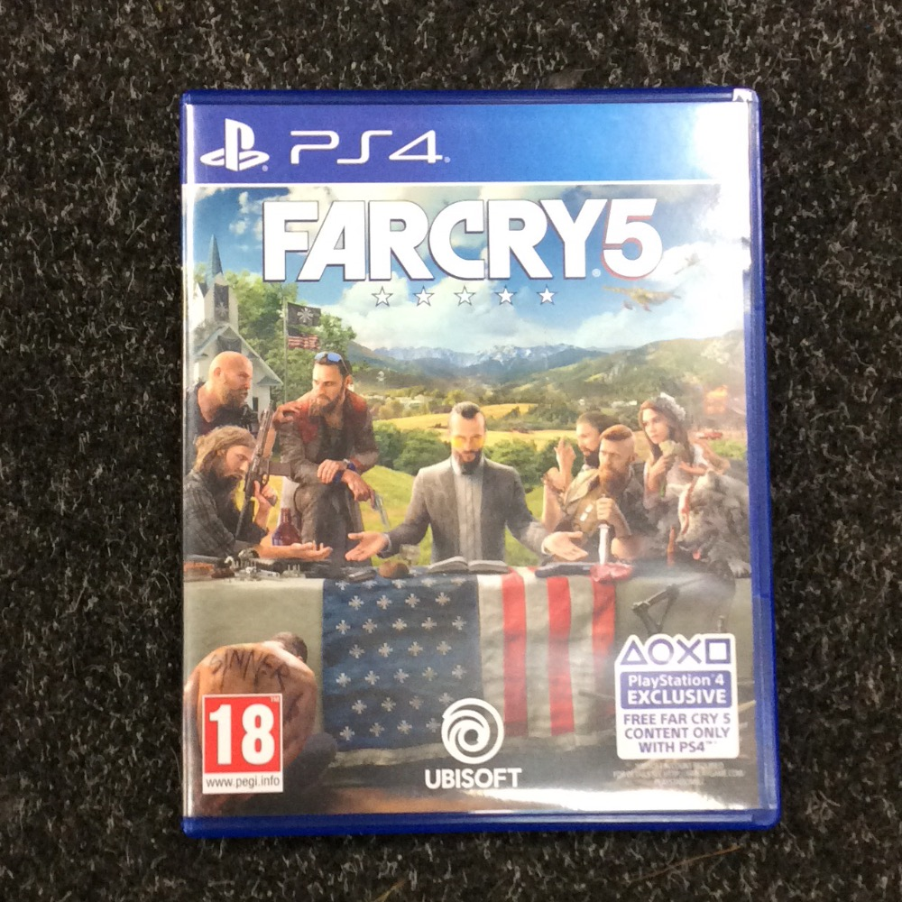 Product photo for PS4 PS4 Game cause 4 cry 5 break remas
