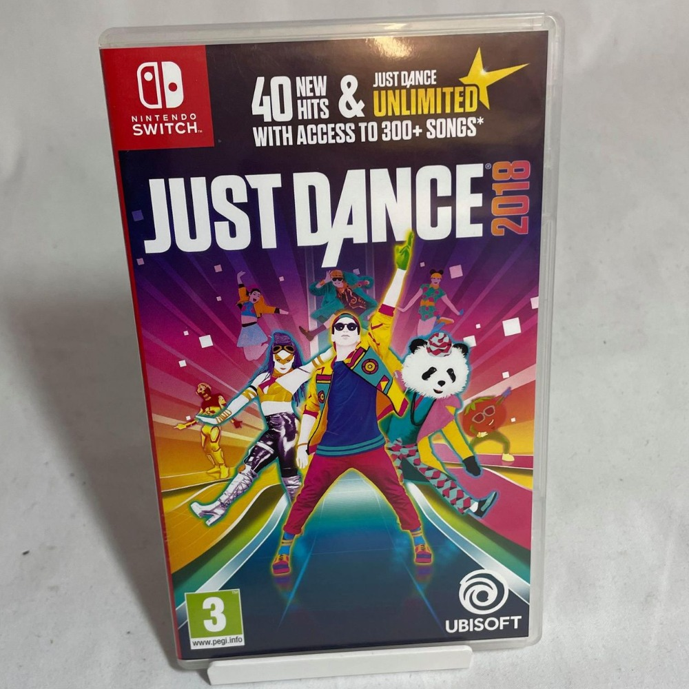 Product photo for Just Dance 2018 - Switch Game