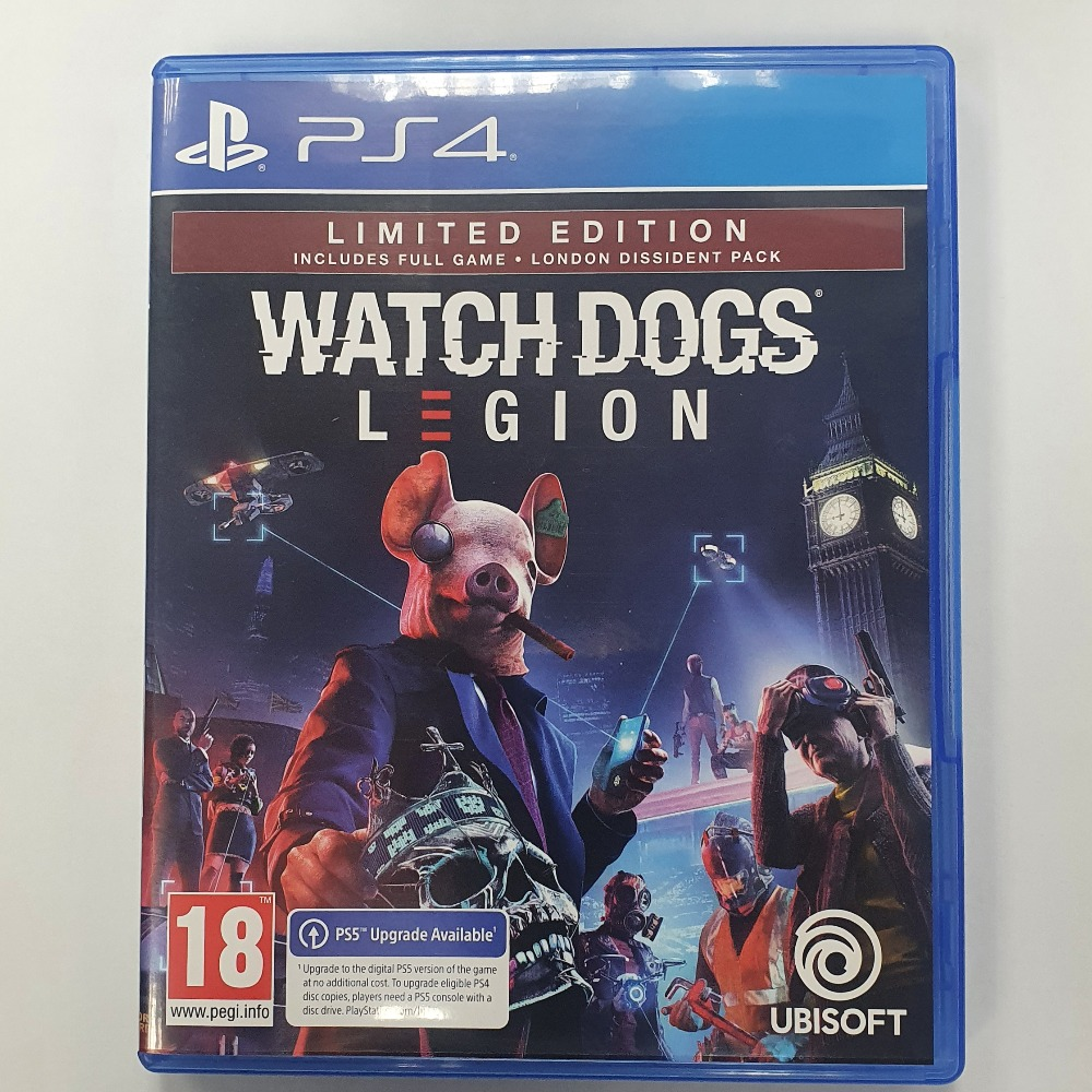 Product photo for Watch Dogs Legion (No DLC)