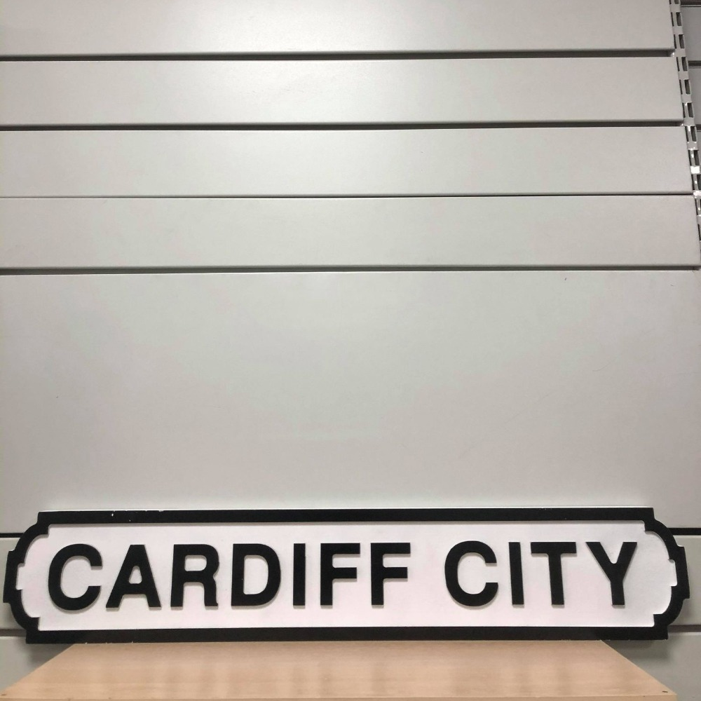 Product photo for Cardiff City Sign