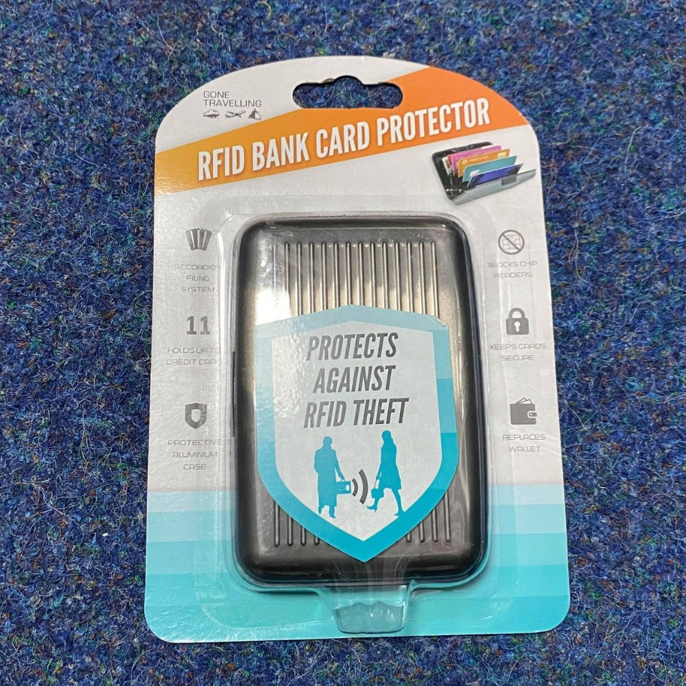 Product photo for Gone Travelling rfid bank card protector