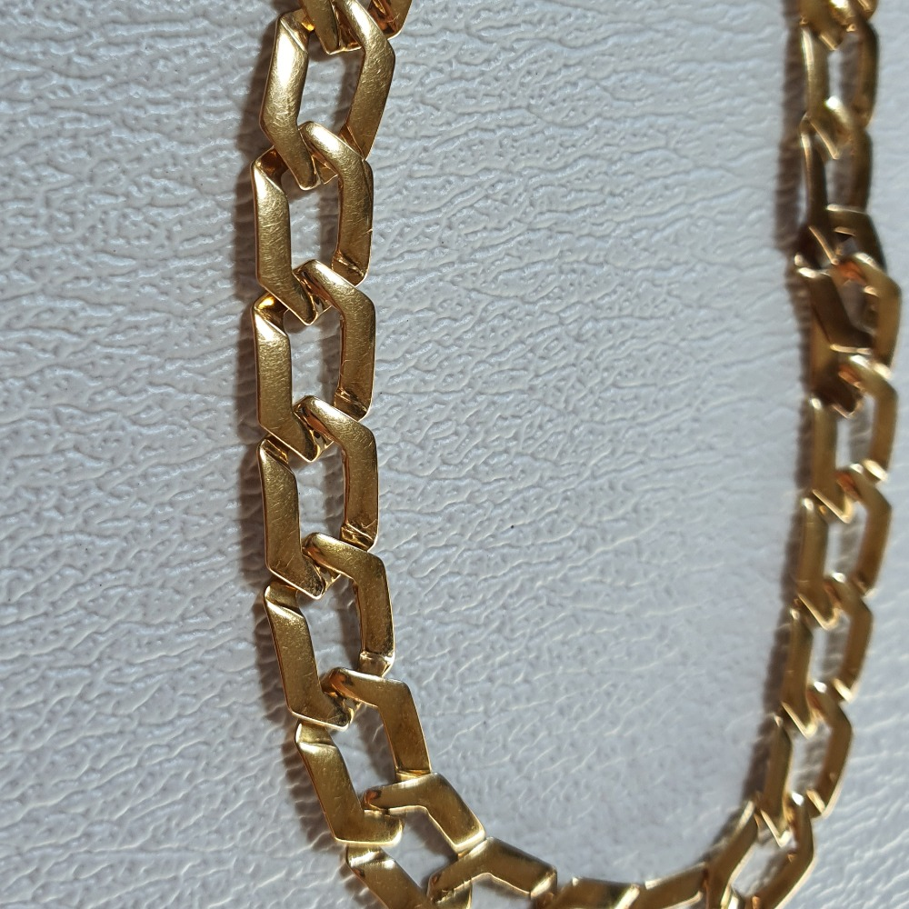 Product photo for 9ct Yellow Gold Curb Bracelet by TGGC 7.5 inches
