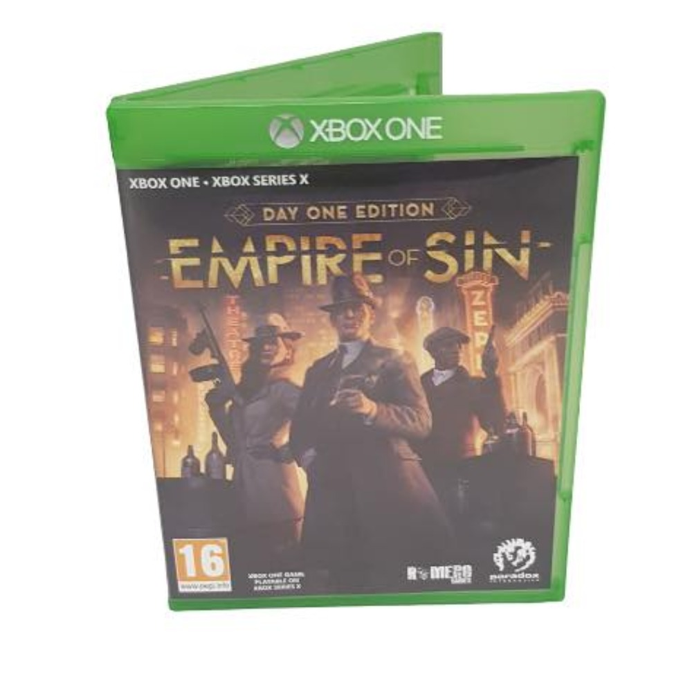 Product photo for Empire of Sin Xbox One Game