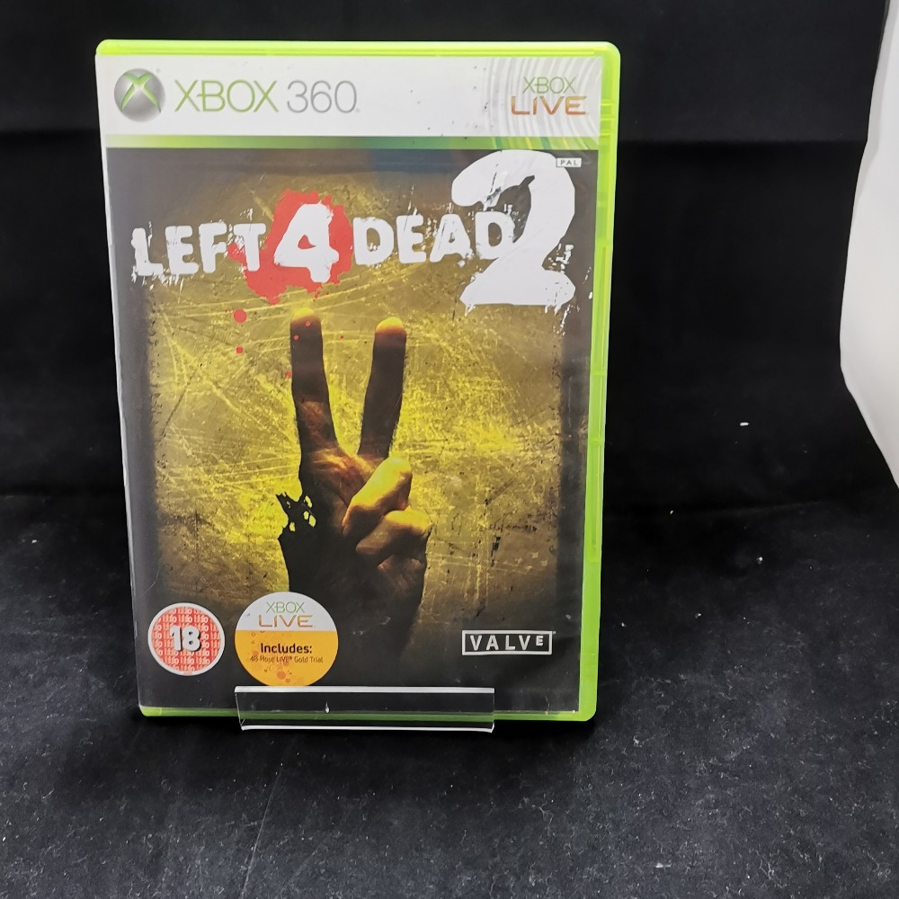 Product photo for xbox 360 game Left 4 Dead 2