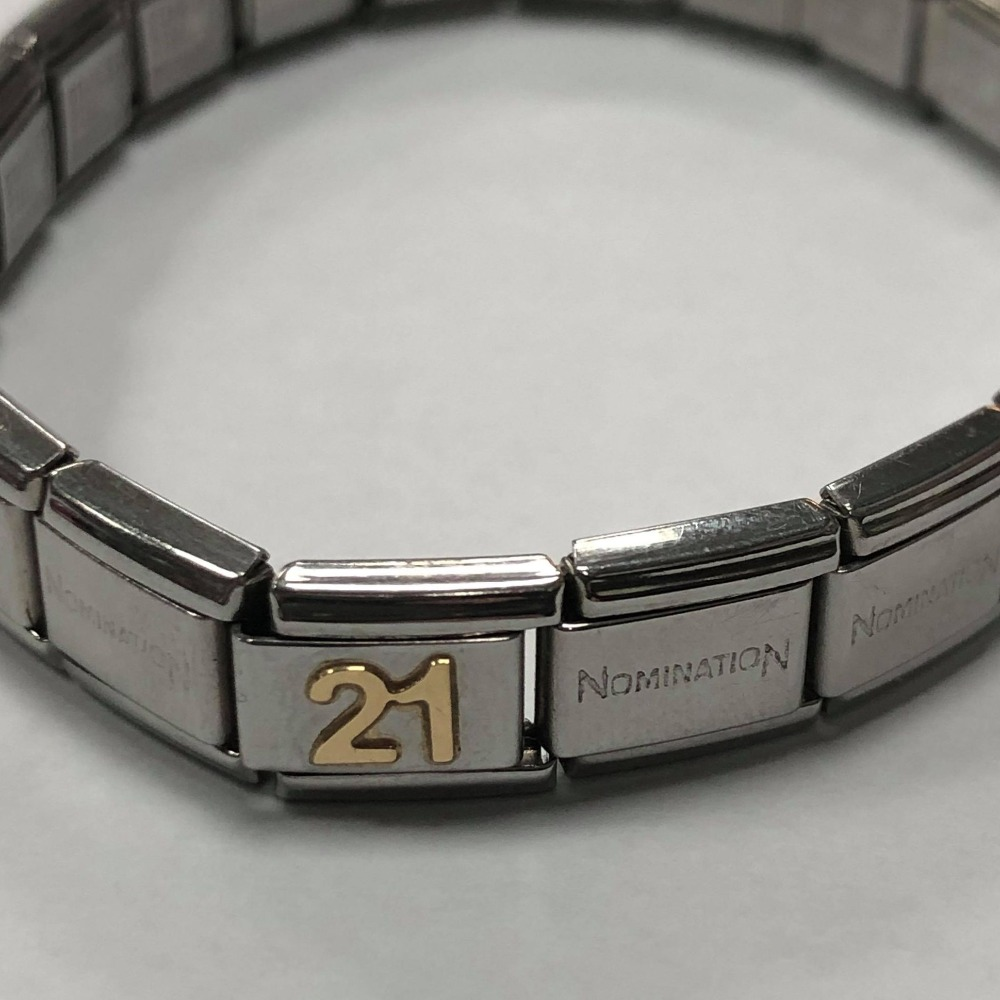 Product photo for Nomination Bracelet with 1 Charm ( 21 )