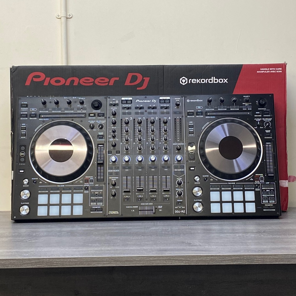 Product photo for PIONEER DDJ-RZ 4 CHANNEL PROFESSIONAL DJ CONTROLLER