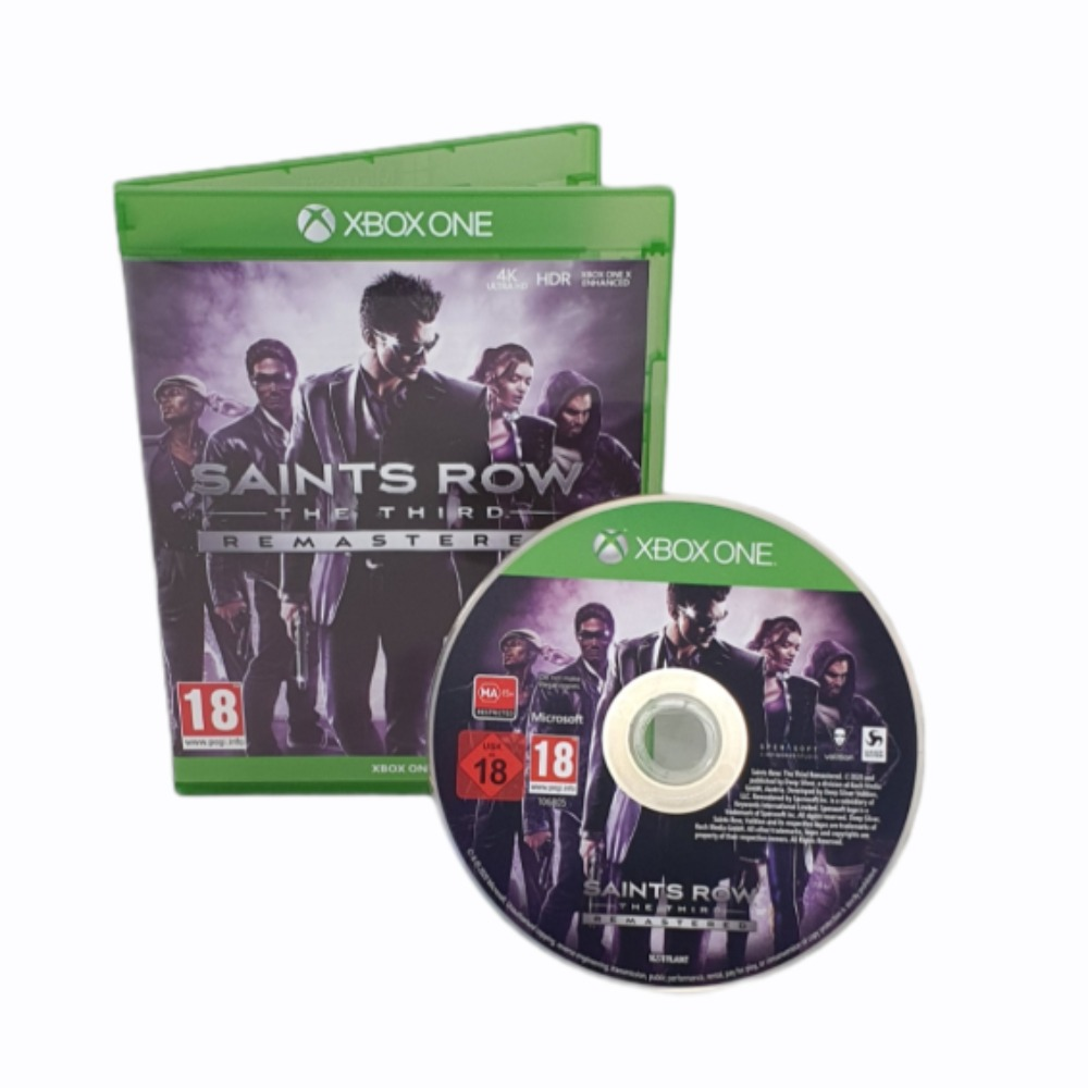 Product photo for Saints Row The Third: Remastered - Xbox One Game