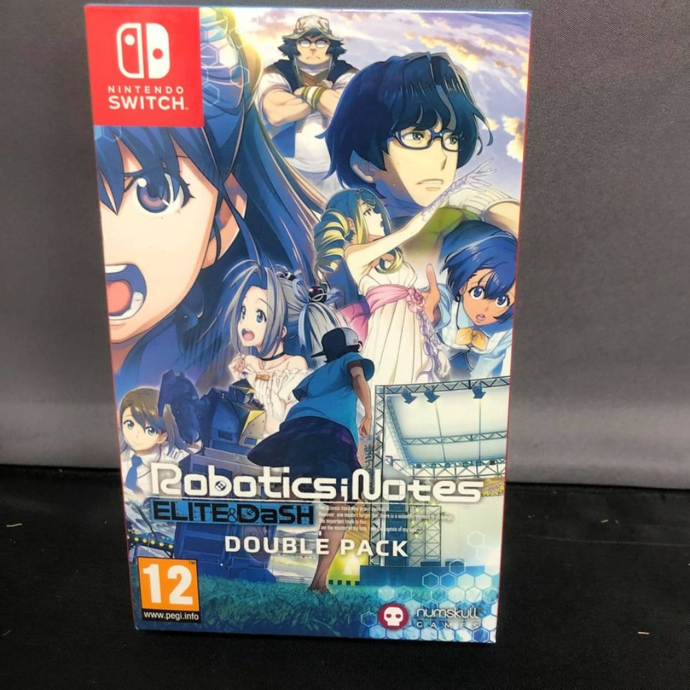 Product photo for !!Sale!! Robotics Notes Double Pack Switch Game (Was £50)