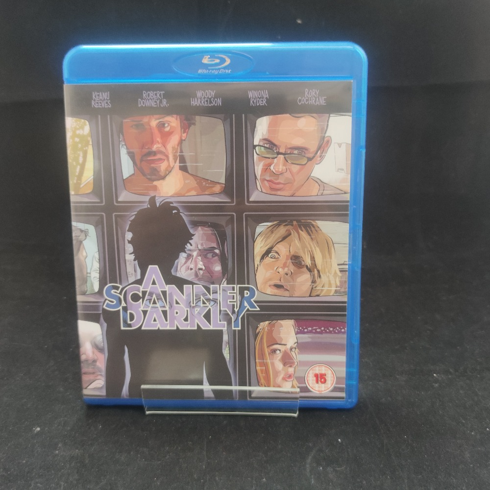 Product photo for A Scanner Darkly Blu-Ray