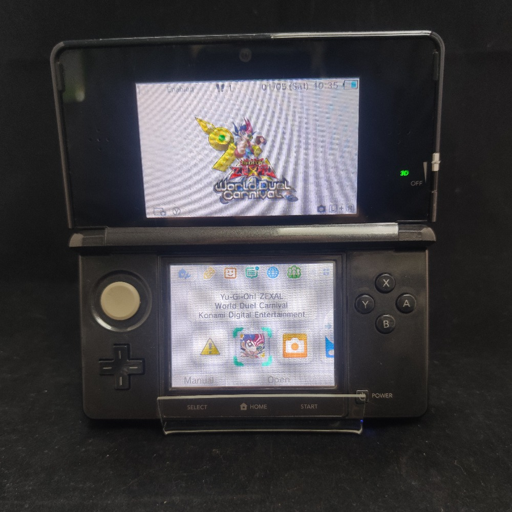 Product photo for Nintendo 3DS Cosmic Black