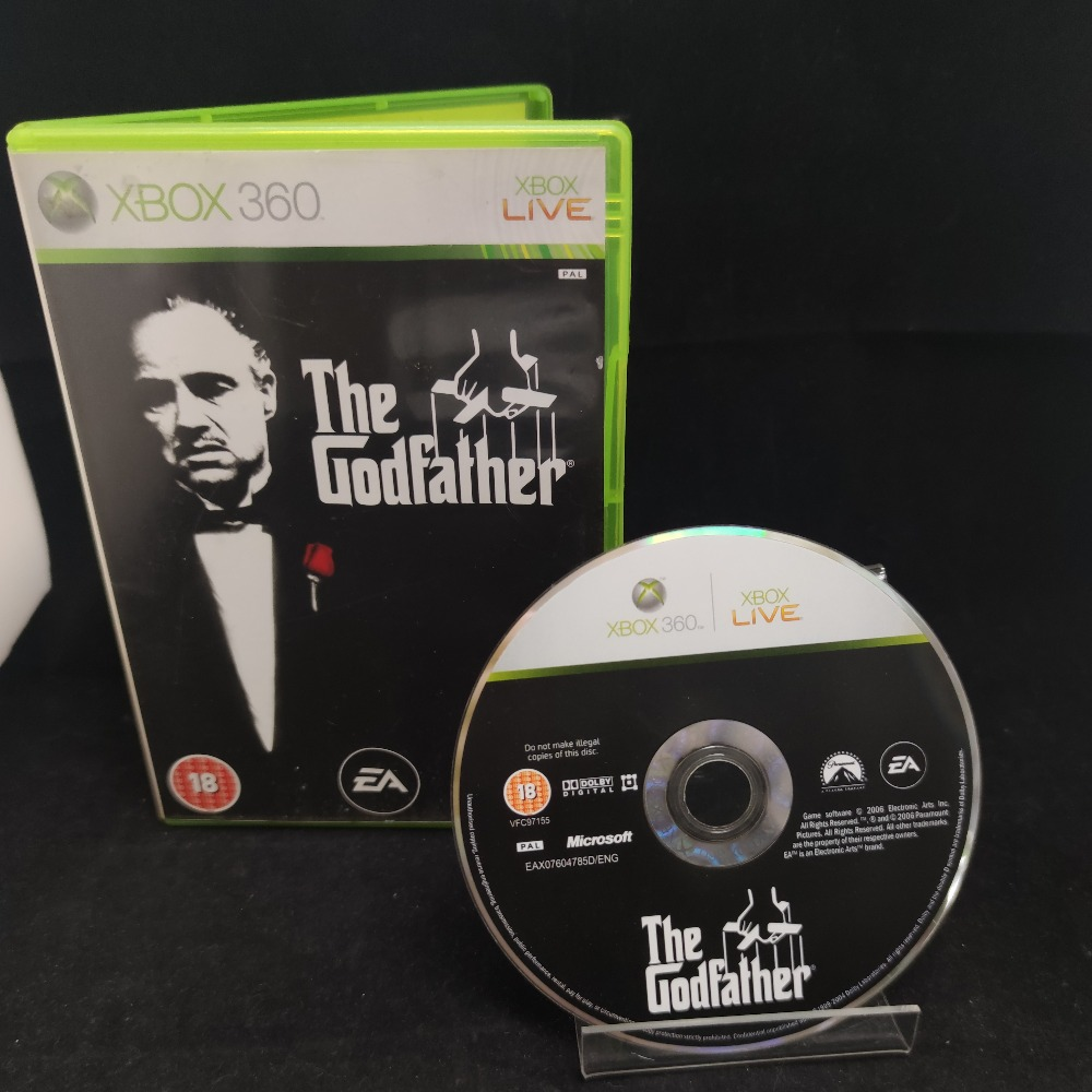 Product photo for  Microsoft Xbox 360  The Godfather