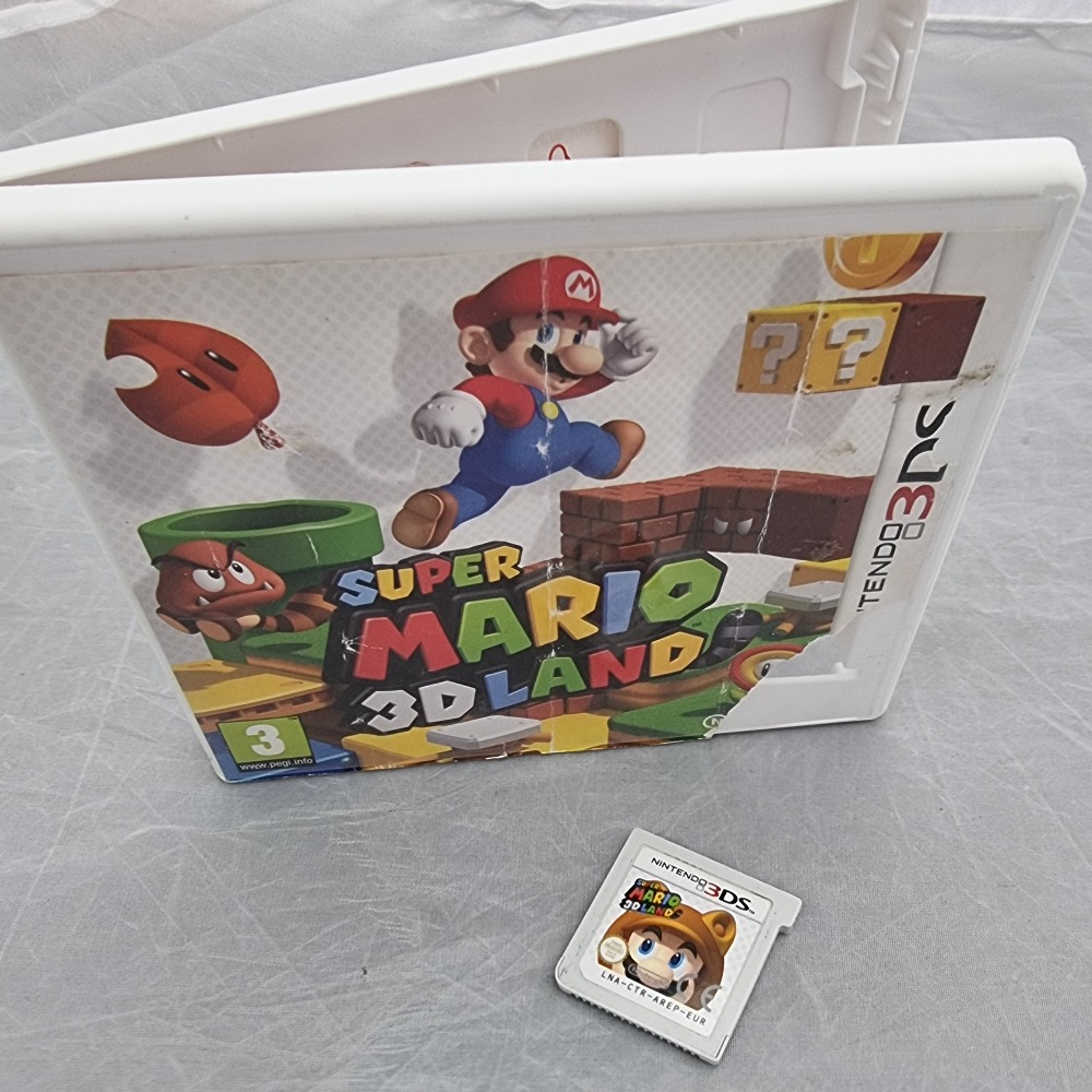 Product photo for nintendo DS Game 3DS mario land 3d