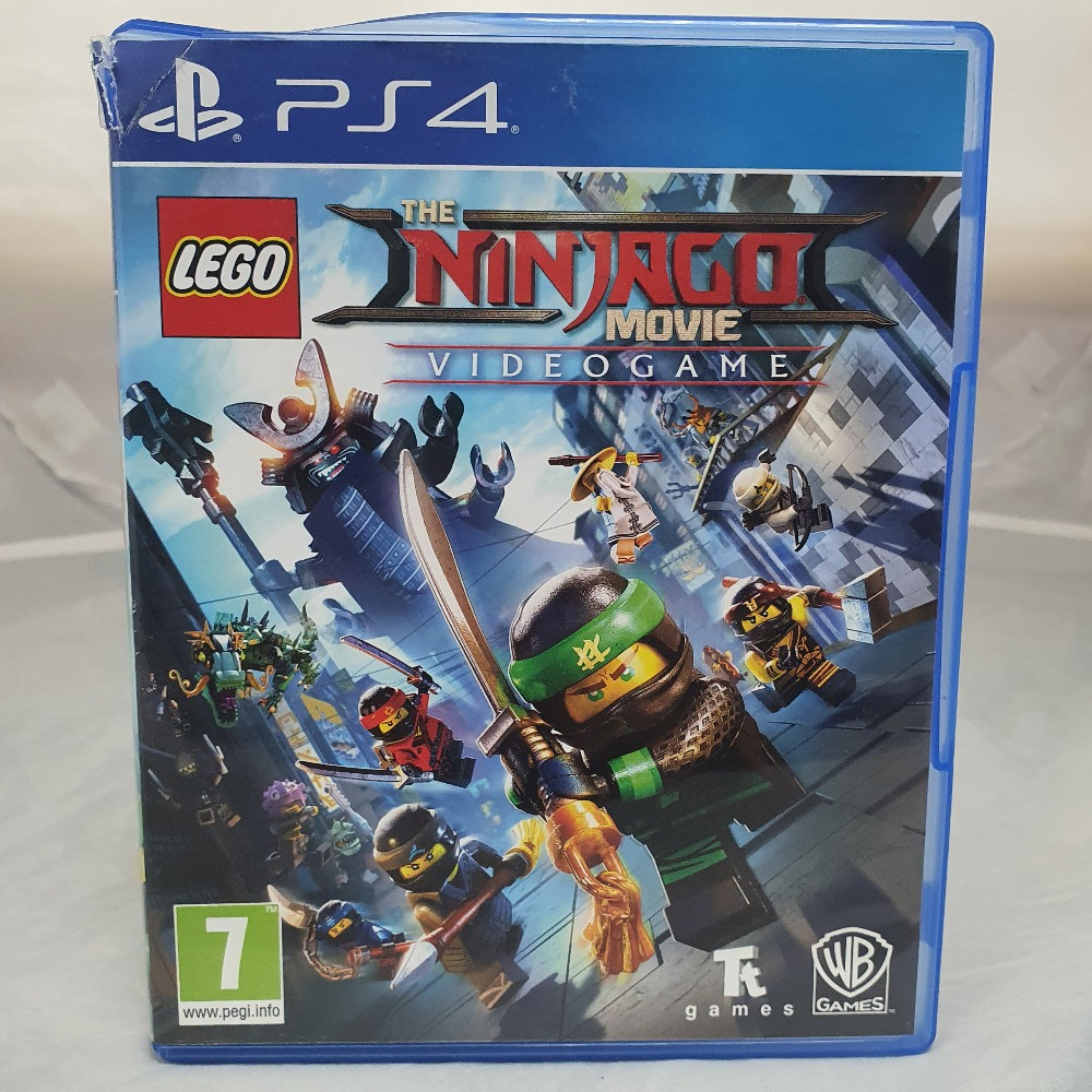 Product photo for LEGO Ninjago Movie Game - PS4