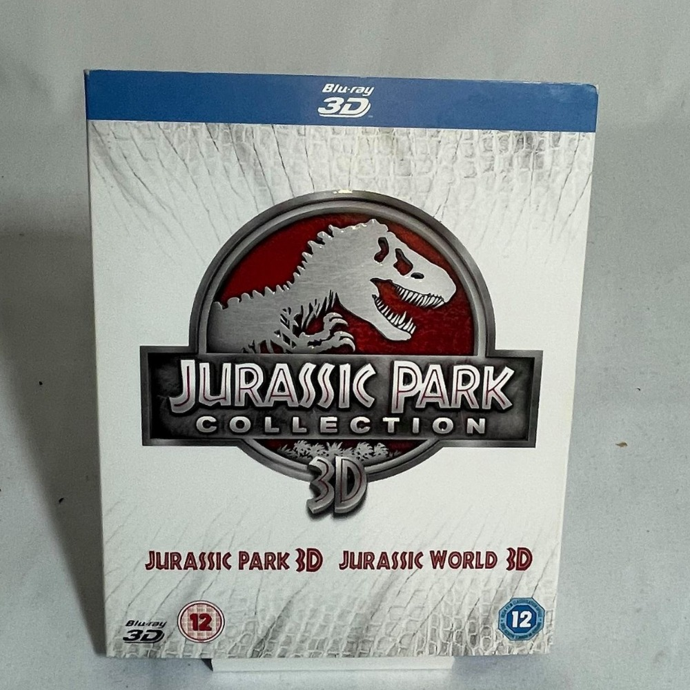 Product photo for Jurassic Park Collection Blu-ray 3D