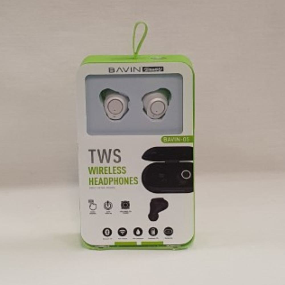Product photo for Bavin TWS Wireless Ear Buds