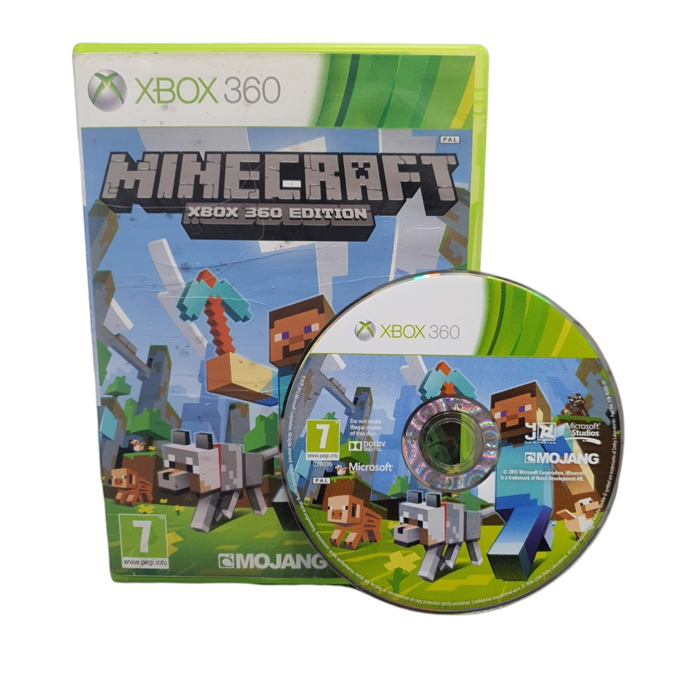 Product photo for Minecraft - Xbox 360 Game