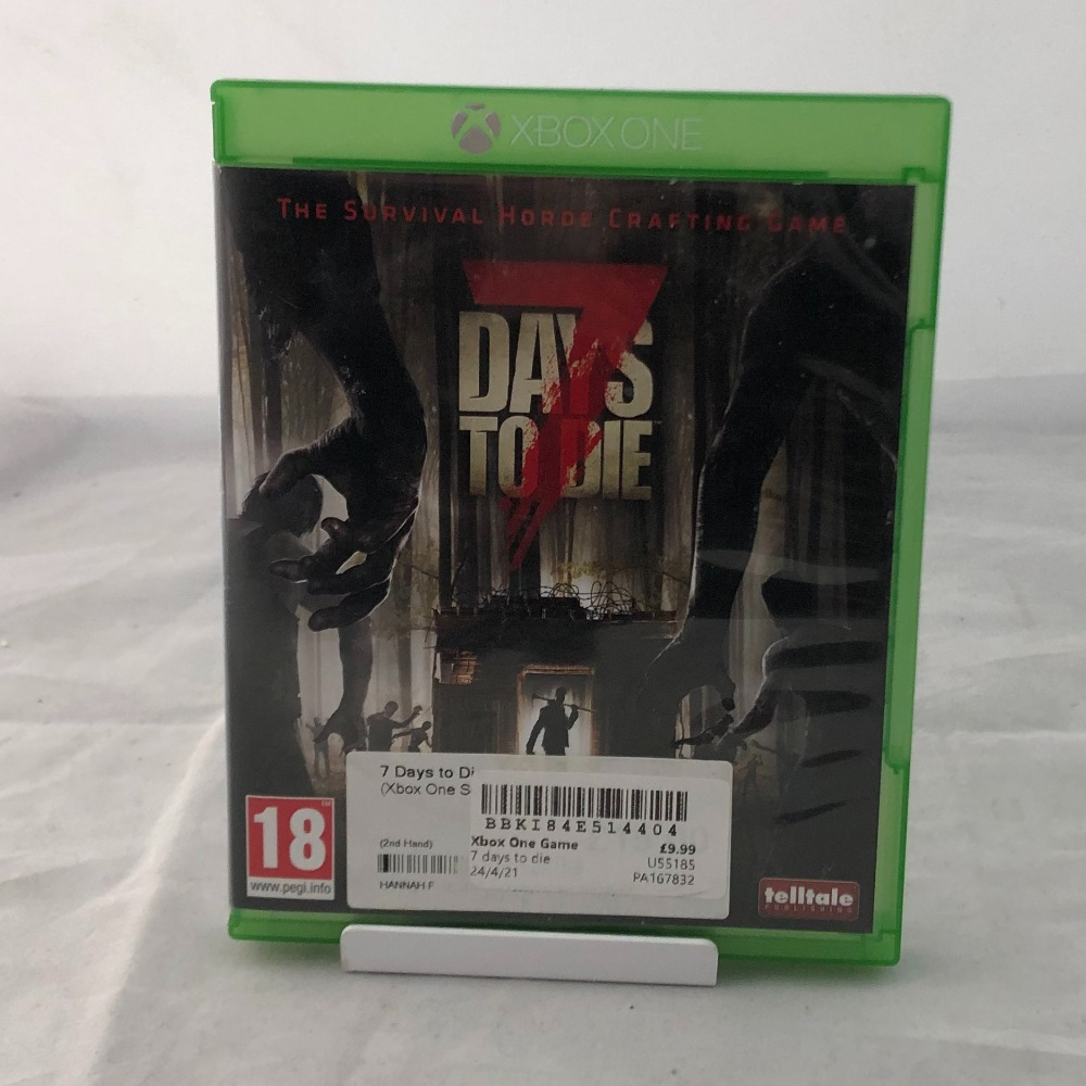 Product photo for  Xbox one game 7 Days to die