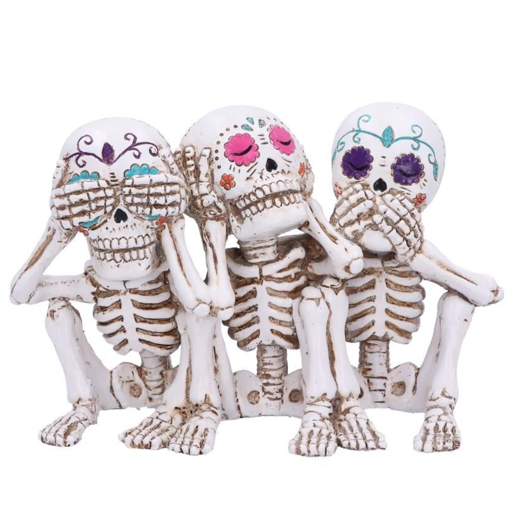 Product photo for Nemesis Now Three Wise Calaveras