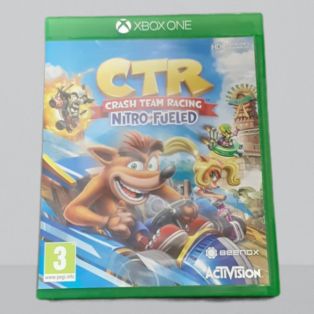 Product photo for  Xbox one game crash team racing