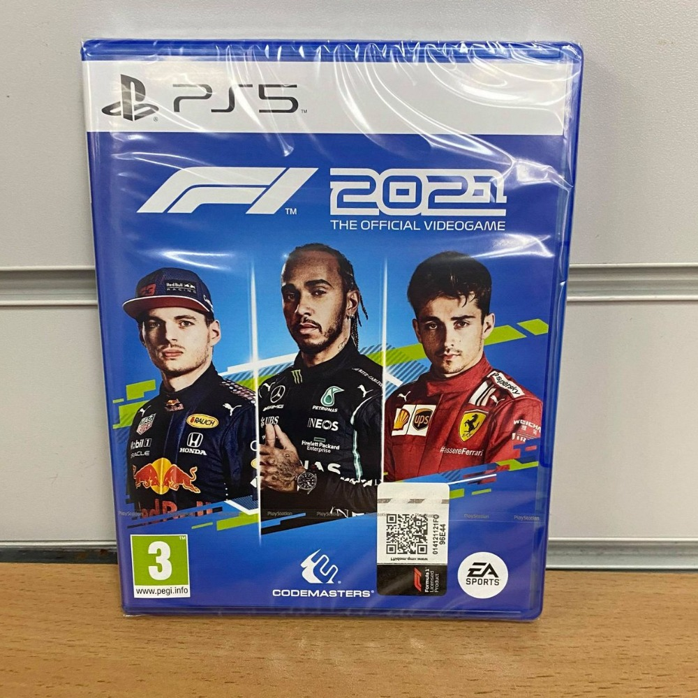 Product photo for PS5 Game F1 2021 PS5