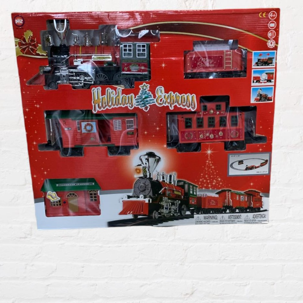 Product photo for Holiday Express Christmas Train Set