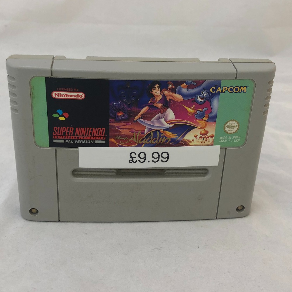 Product photo for Nintendo SNES Game ALADDIN