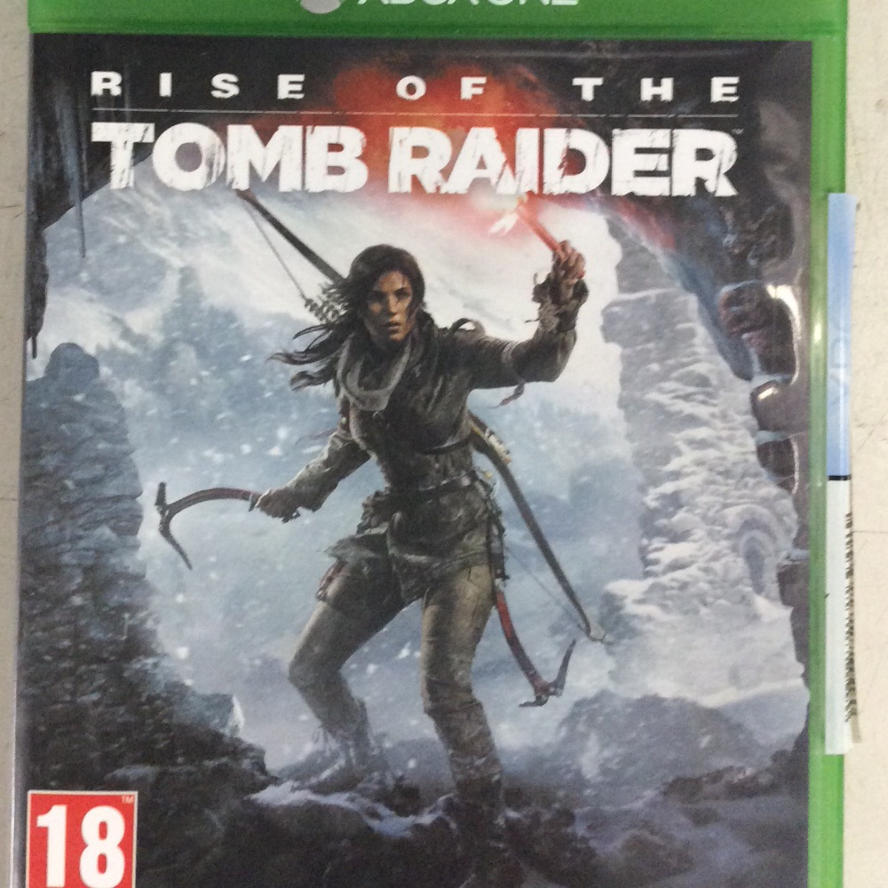 Product photo for xbone one game Rise of the tomb raider