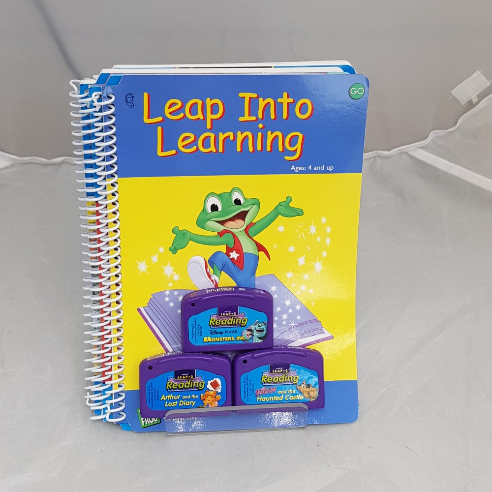 Product photo for Leap Pad 3 Games& 4 Booklets