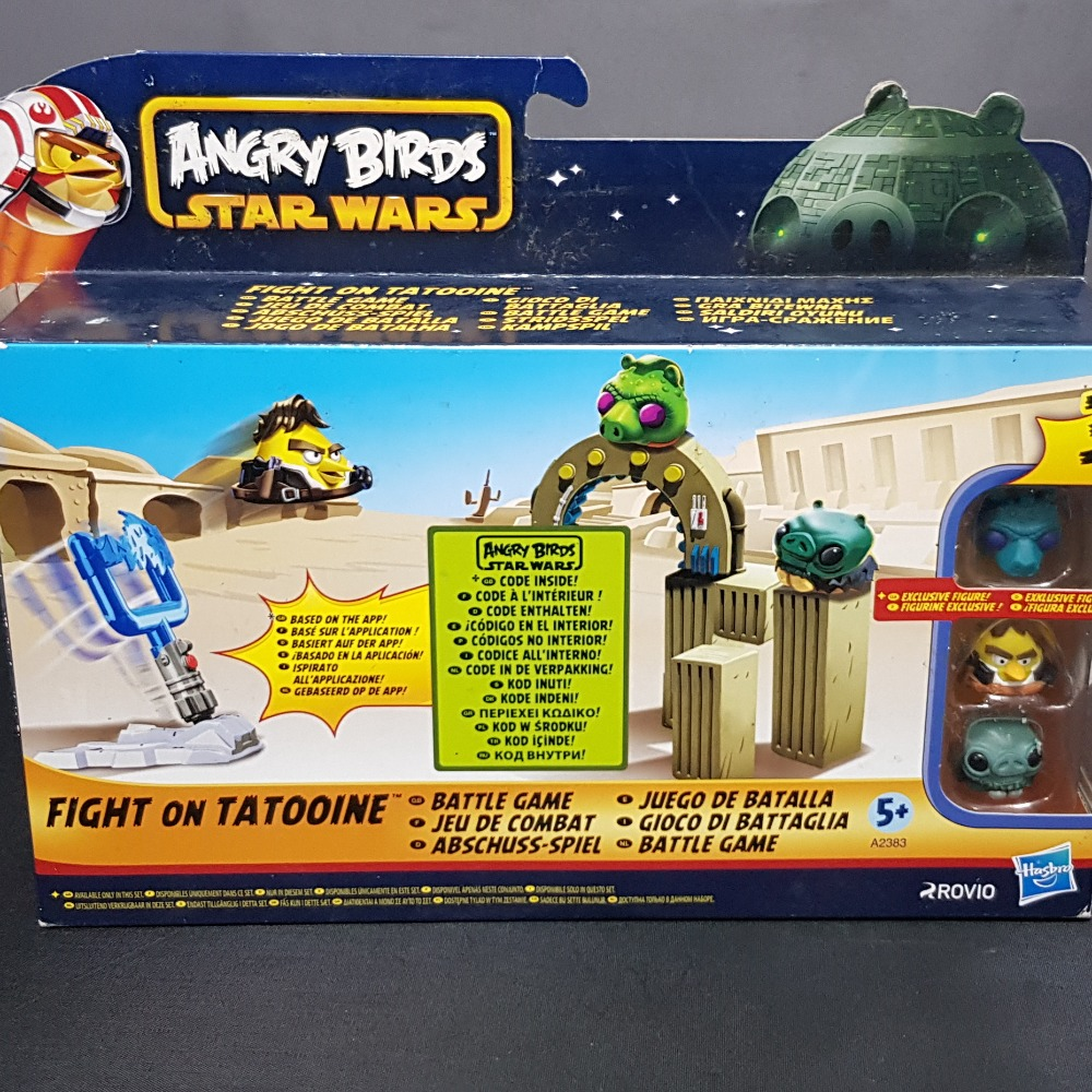 Product photo for Angry Birds Star Wars - Fight on Tatooine Battle Game