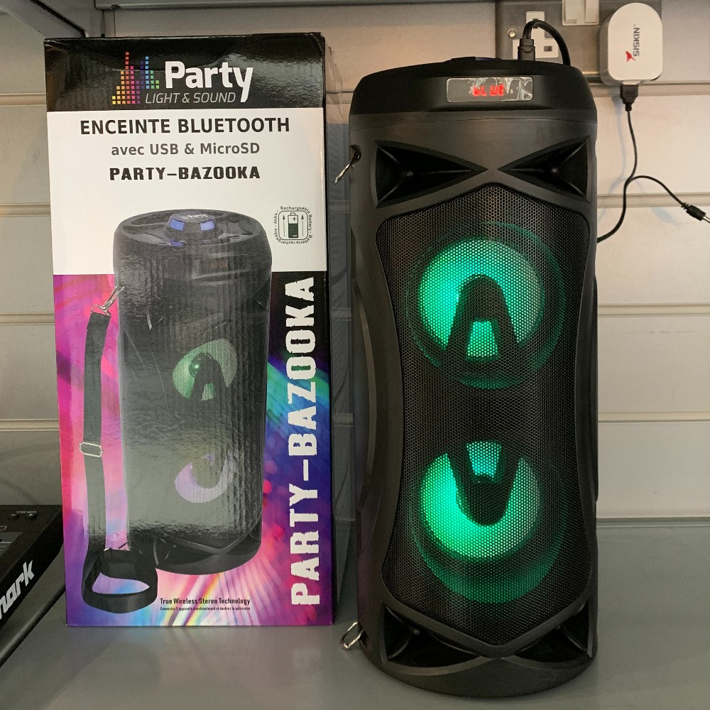 Product photo for Party bazooka speaker