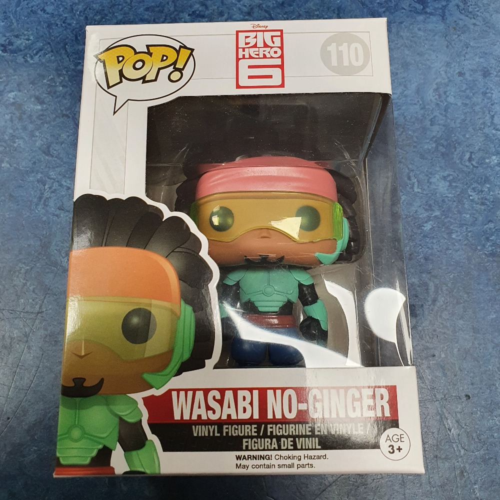 Product photo for Funko Pop wsabi no-ginger #110