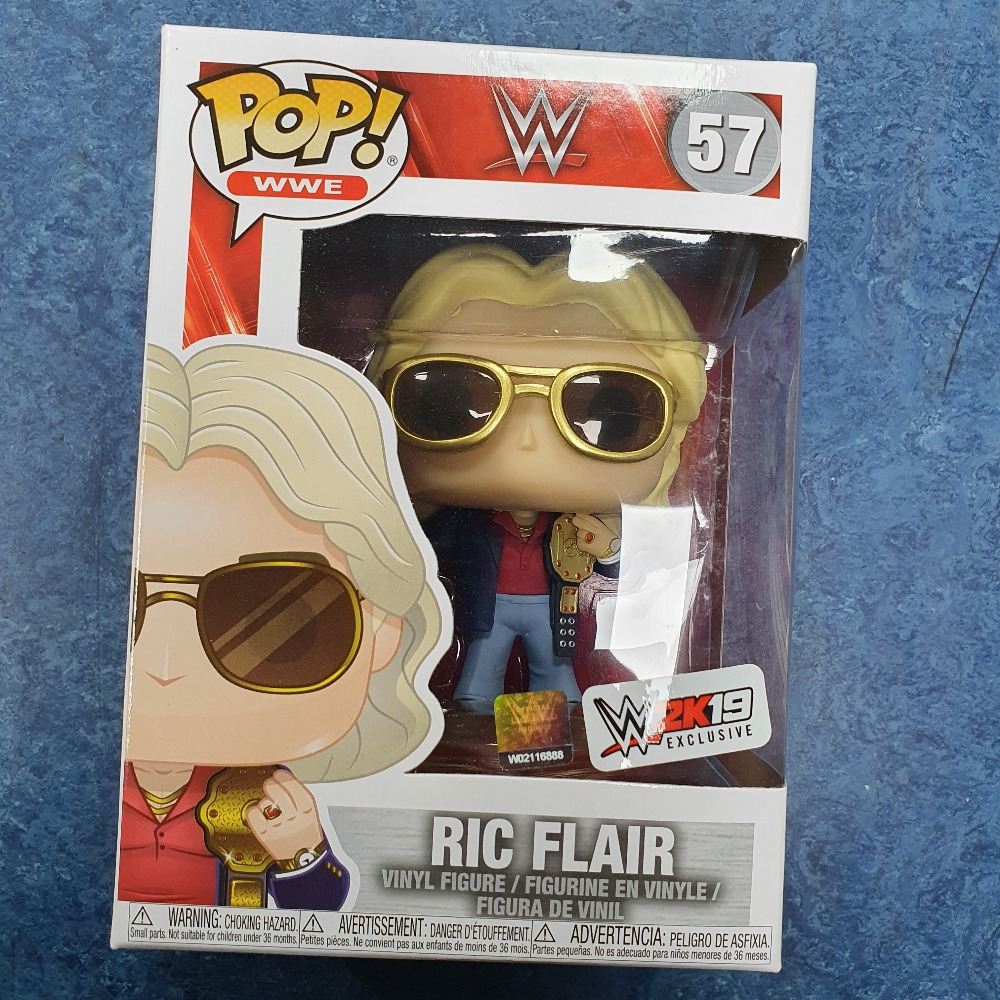 Product photo for Funko Pop ric flair #57 funko