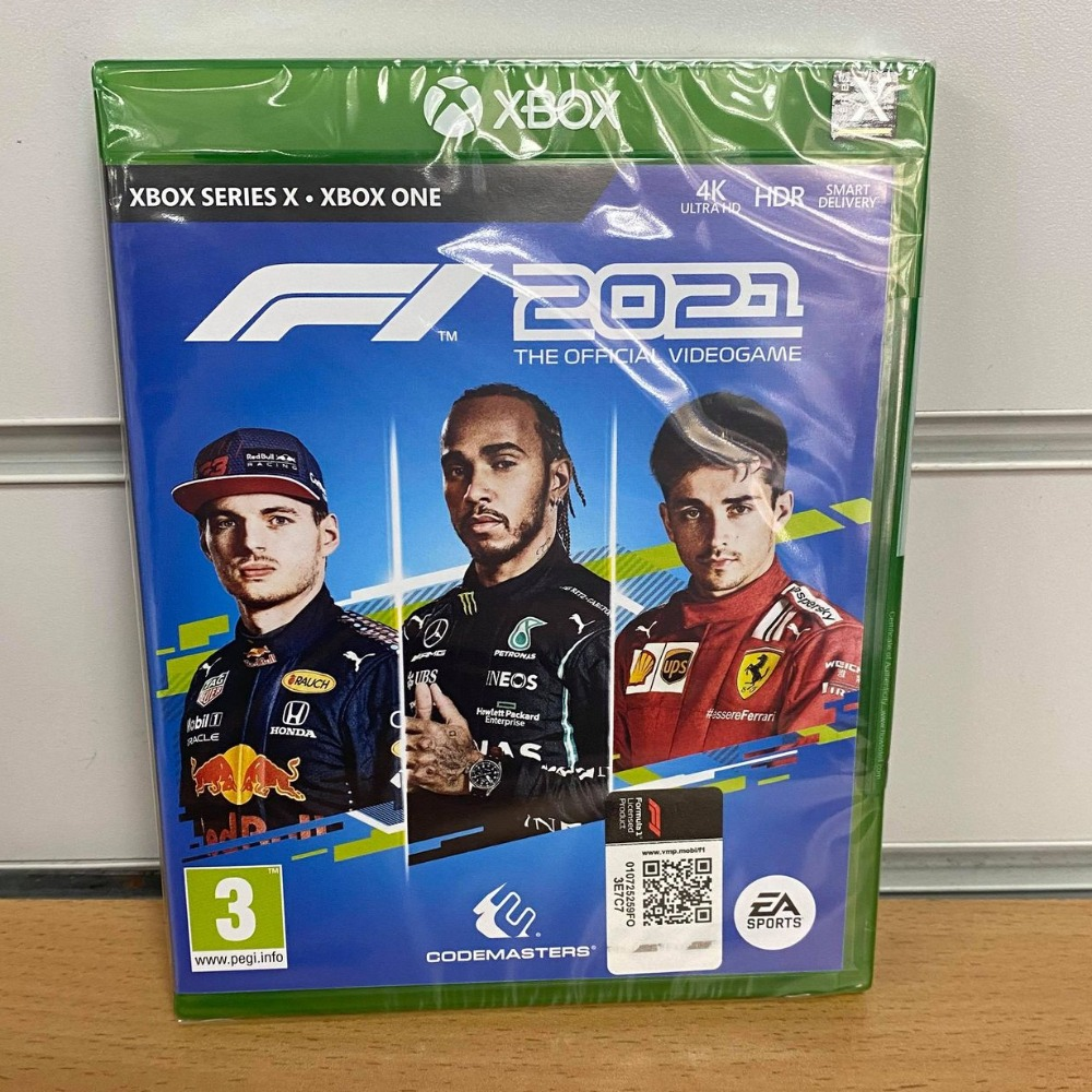 Product photo for !OUT NOW! Formula One - F1 2021 Xbox One / Series X Game (Sealed)