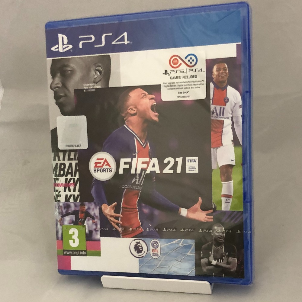 Product photo for Sony Fifa 21- Brand New & Sealed - PS4