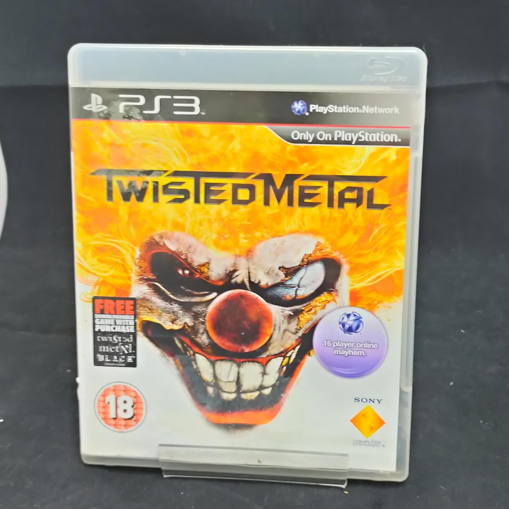 Product photo for PS3 Game Twisted Metal