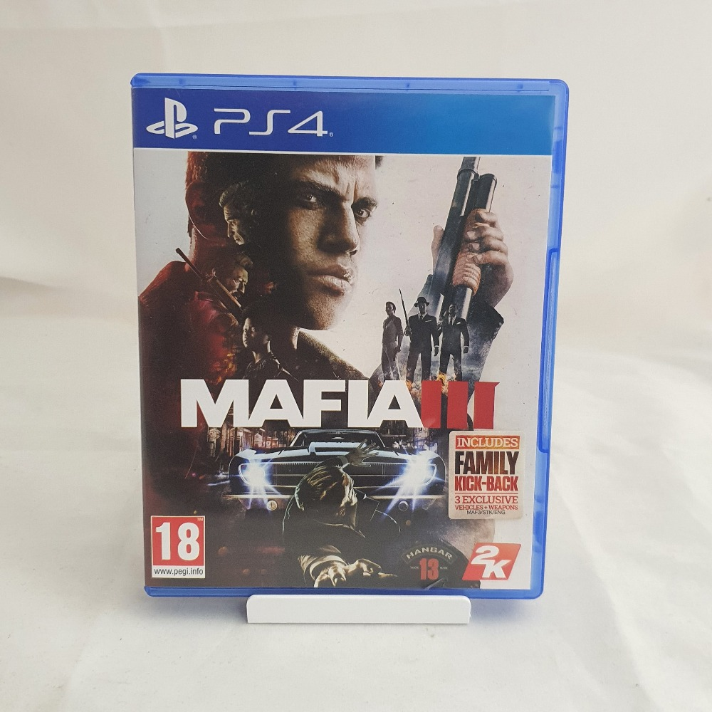 Product photo for PS4 Game Mafia 3