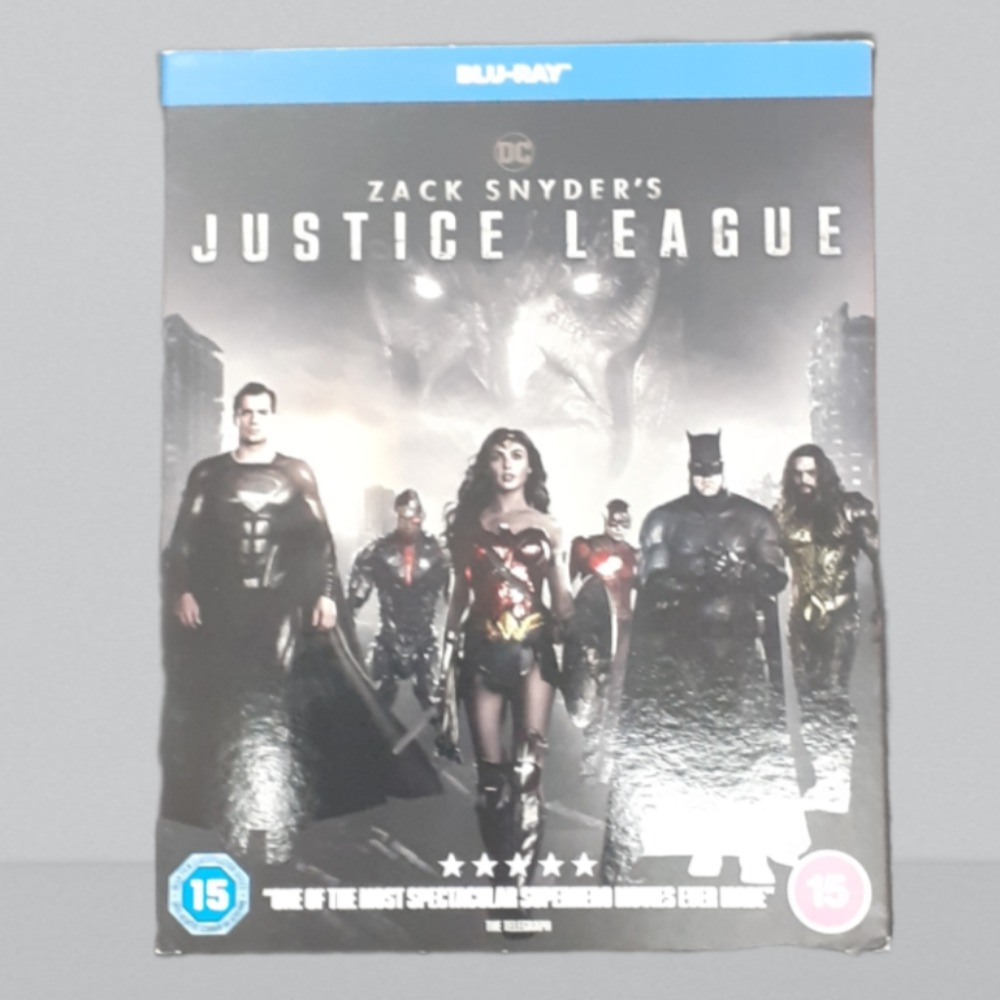 Product photo for Blu-ray Zack Snyder's Justice League