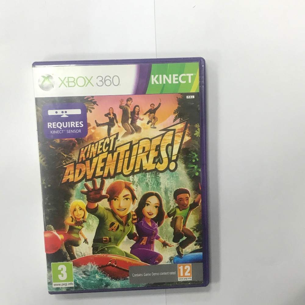Product photo for Microsoft kinect adventures Xbox 360