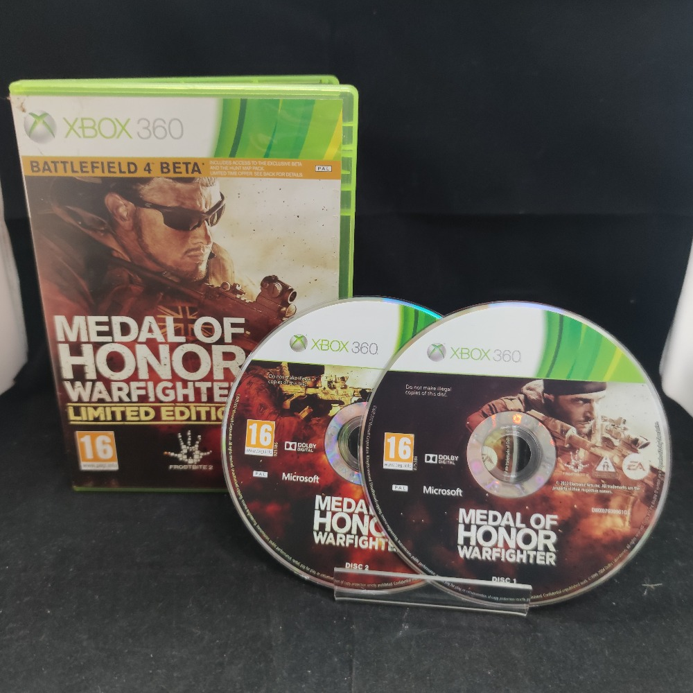 Product photo for  Microsoft Xbox 360 game Medal Of Honor Warfighter