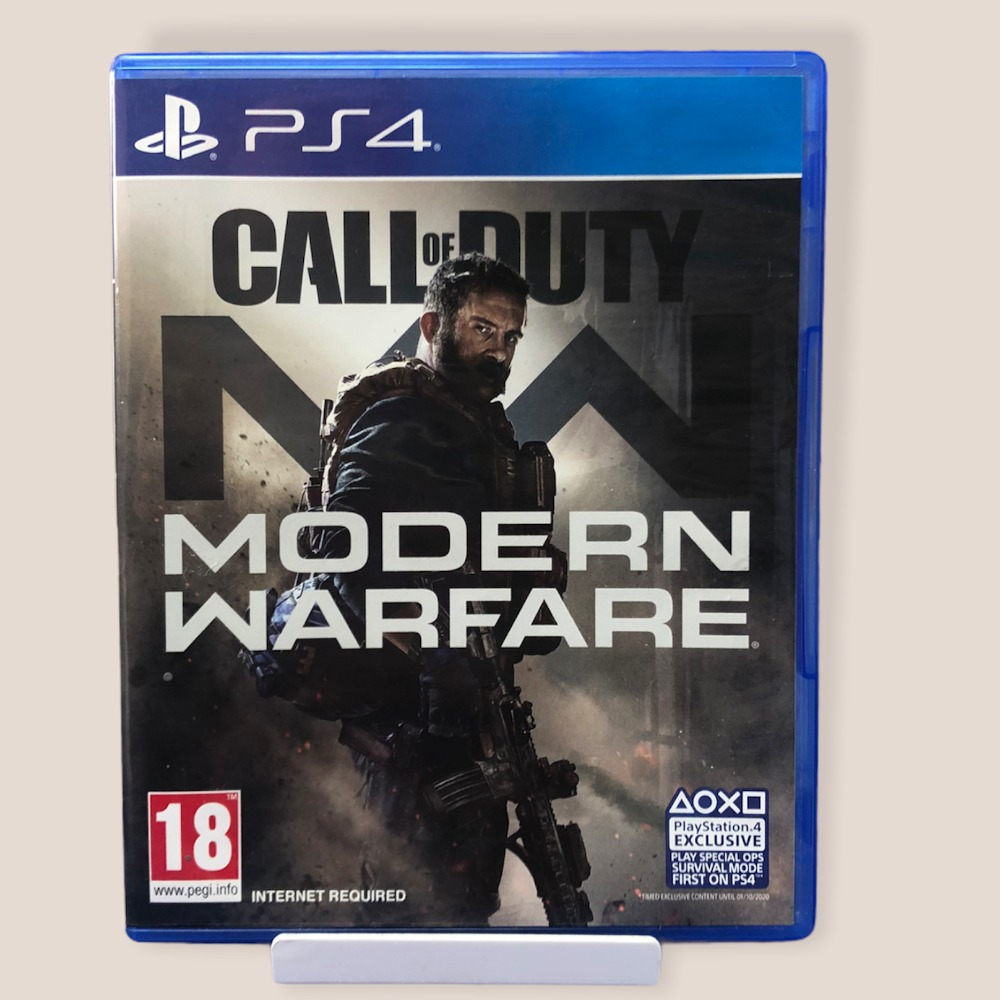 Product photo for PS4 Game Call Of Duty: Modern Warfare