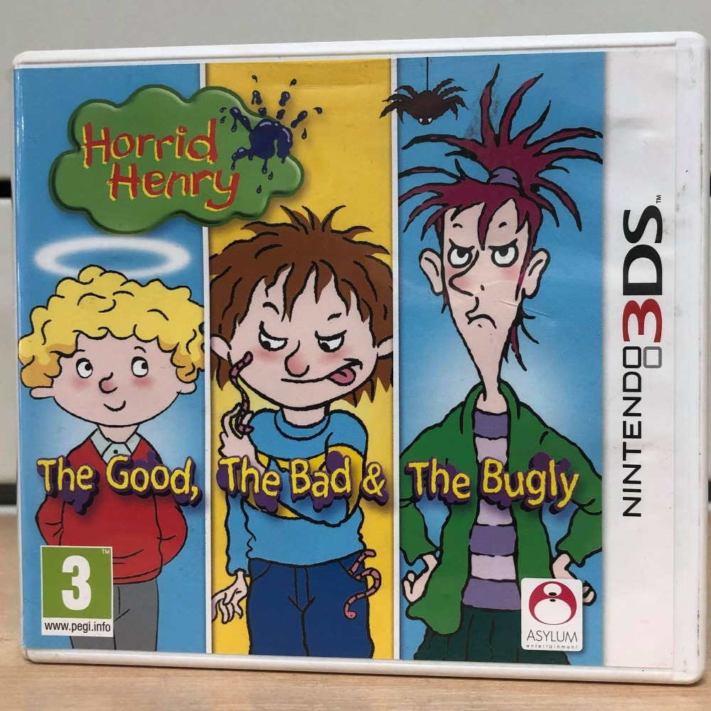 Product photo for Horrid Henry: The Good, The Bad & The Bugly 3DS