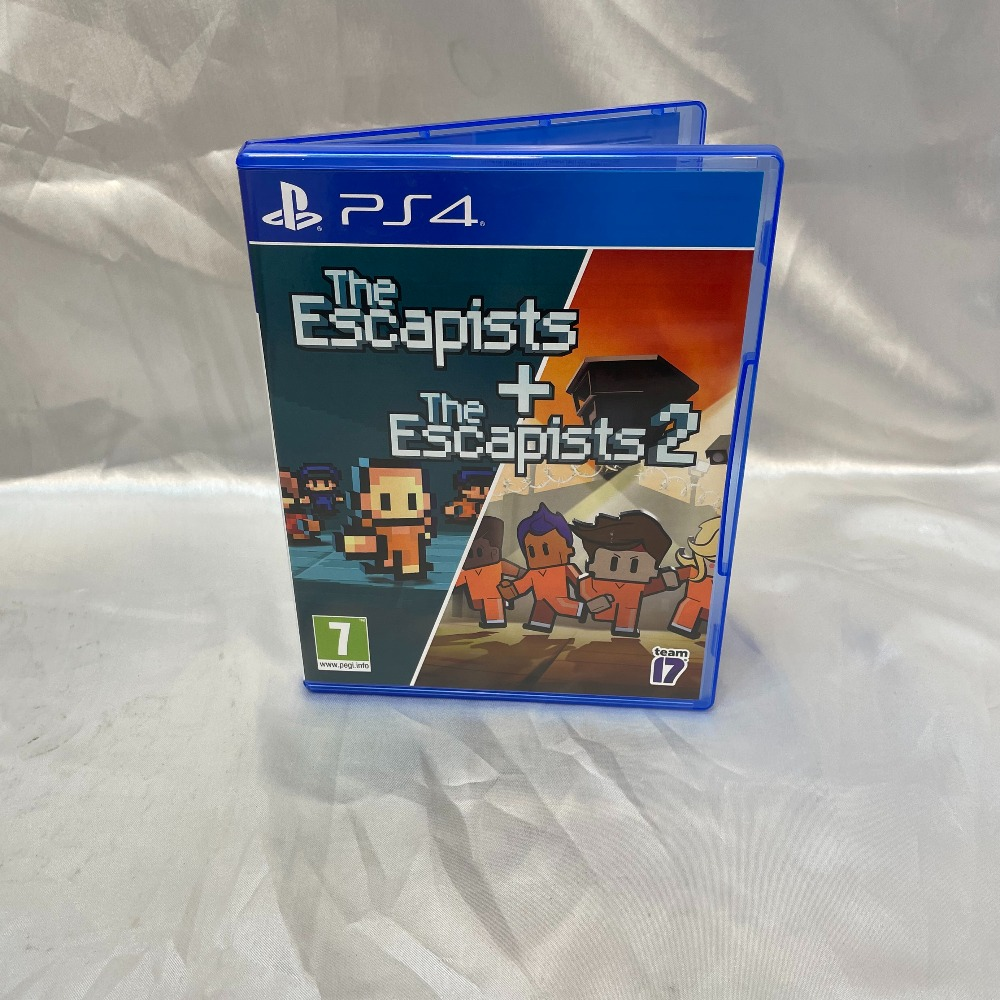 Product photo for PlayStation 4 Game The escapists + The Escapists 2