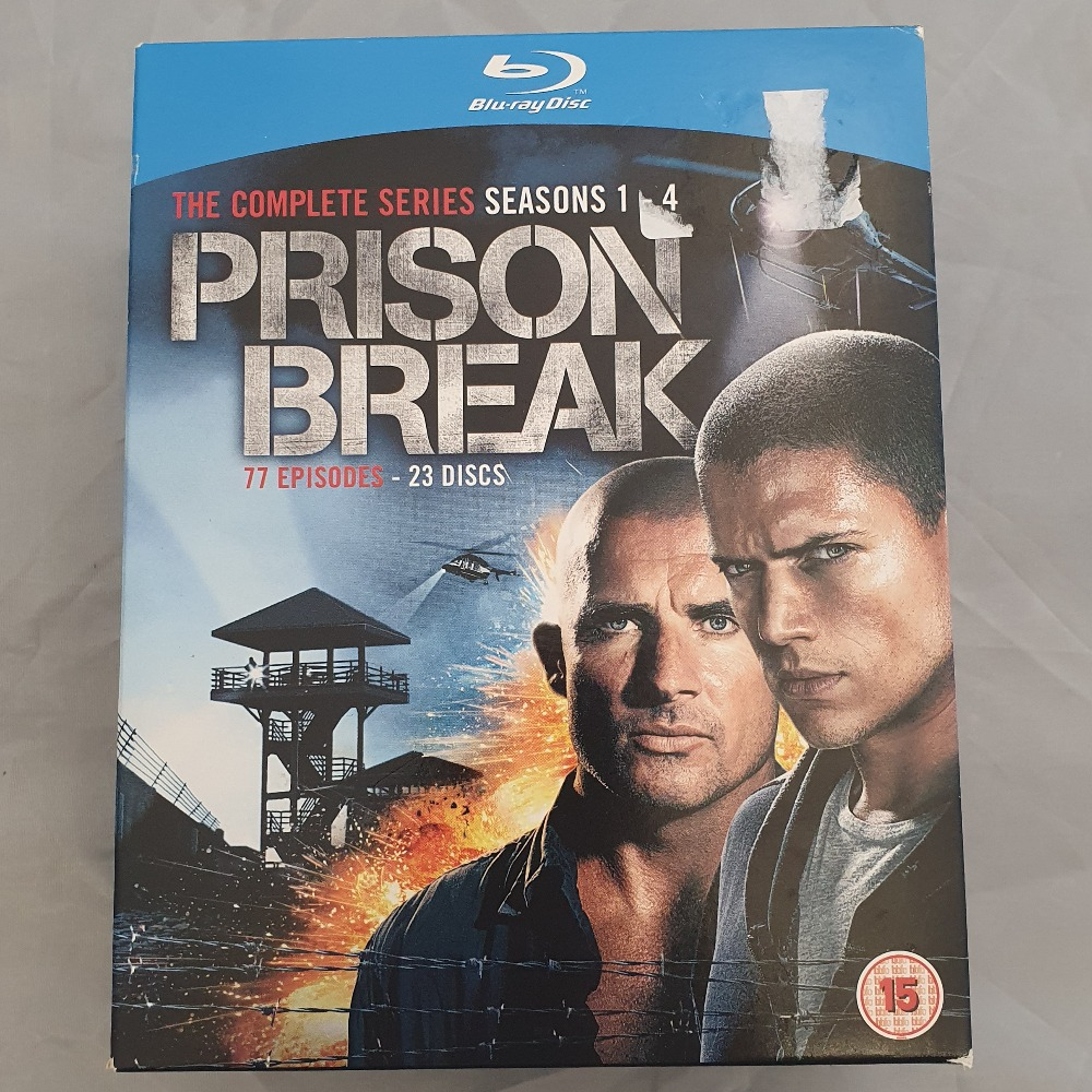 Product photo for Blu-Rays Prison Break Boxset (Blu-Ray)