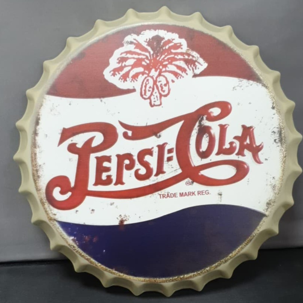 Product photo for 40cm Pepsi Bottle Cap