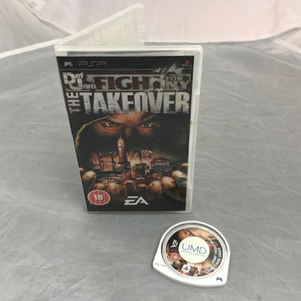 Product photo for PSP Game Def Jam Fight for NY: The Takeover